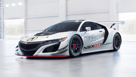Honda NSX GT3 racer revealed, ready to go racing in 2017
