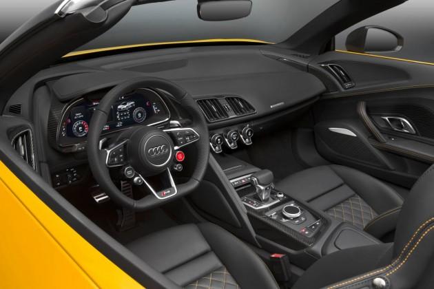 2017 Audi R8 Spyder-interior