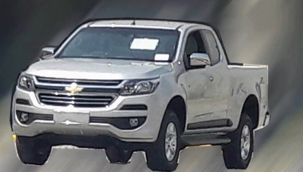 2017 Holden Colorado to get this new-look front end?