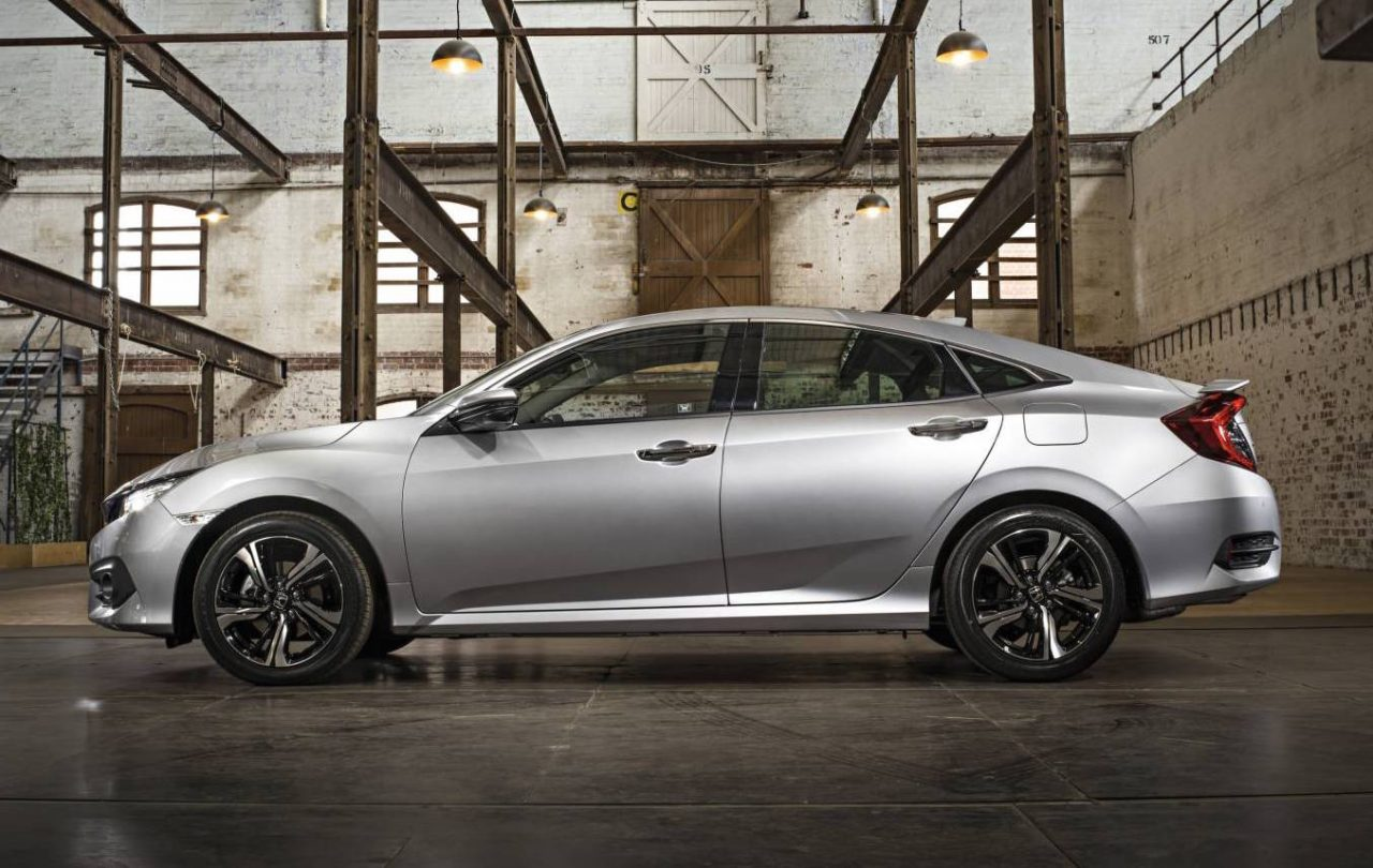 2017 Honda Civic sedan on sale in Australia in June, 1.5 turbo ...