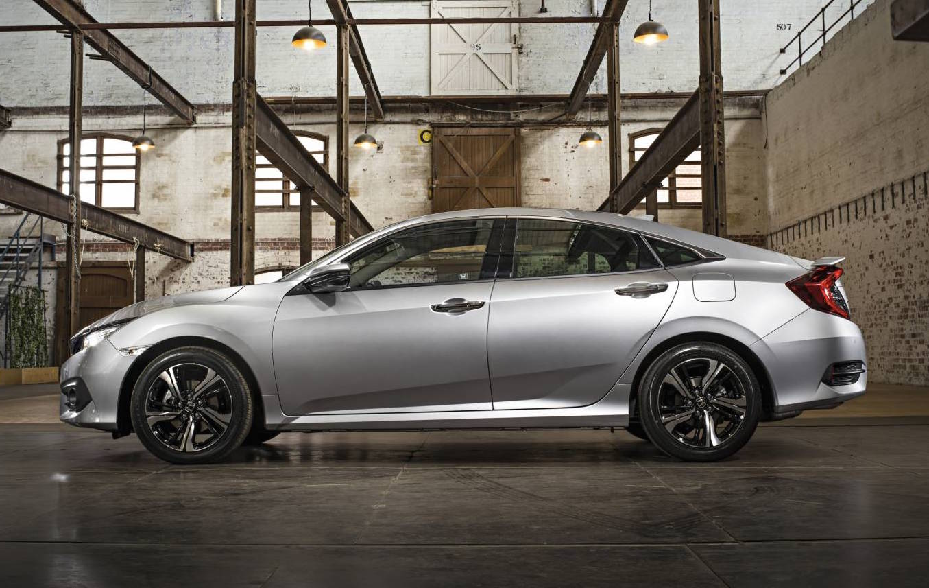 2017 honda civic sedan on sale in australia in june 1 5 turbo confirmed performancedrive. Black Bedroom Furniture Sets. Home Design Ideas
