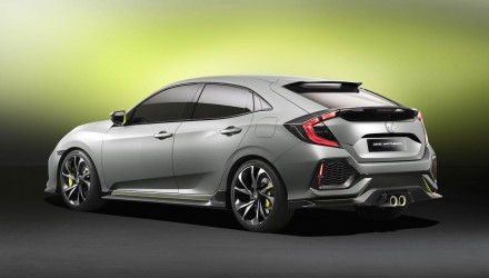 2017 Honda Civic prototype previews all-turbo next-gen hatch