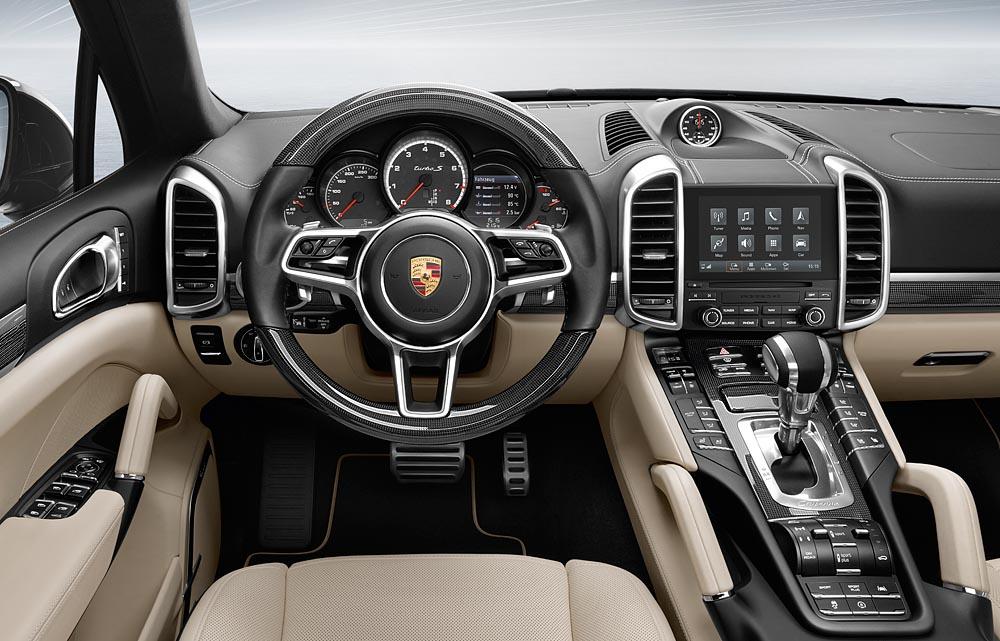 2017 Porsche Cayenne PCM