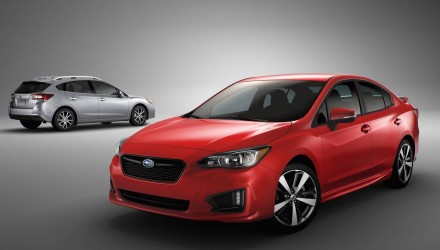 2017 Subaru Impreza unveiled, debuts all-new global platform