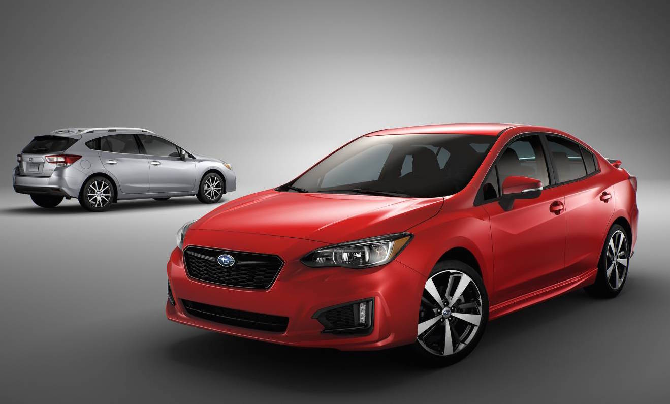 2017 subaru impreza unveiled debuts all new global. Black Bedroom Furniture Sets. Home Design Ideas