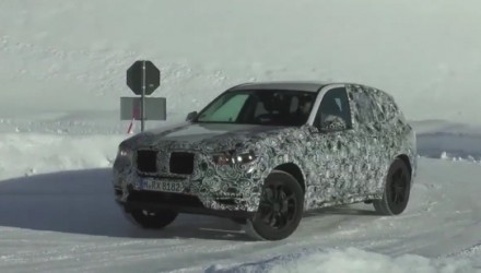 2018 BMW X3 prototype spotted; all-new platform, fresh design (video)