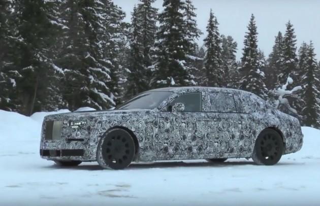 2018 Rolls-Royce Phantom prototype