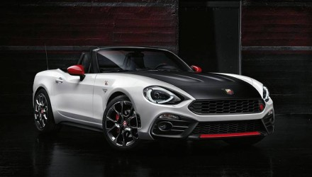 Abarth 124 Spider makes surprise appearance at Geneva show