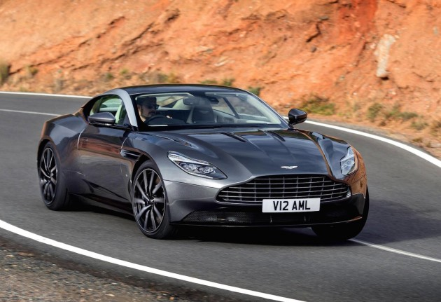 Aston Martin DB11-driving