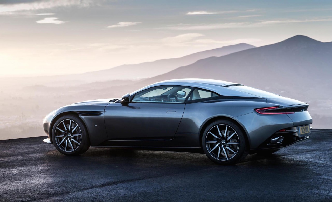 aston martin db11 debuts 600hp twin turbo v12. Black Bedroom Furniture Sets. Home Design Ideas