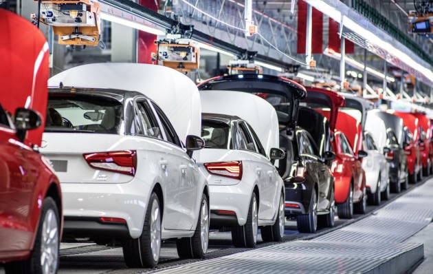 Audi A1 Brussels production