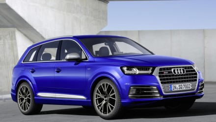 Audi SQ7 performance SUV revealed, gets tri-turbo TDI V8