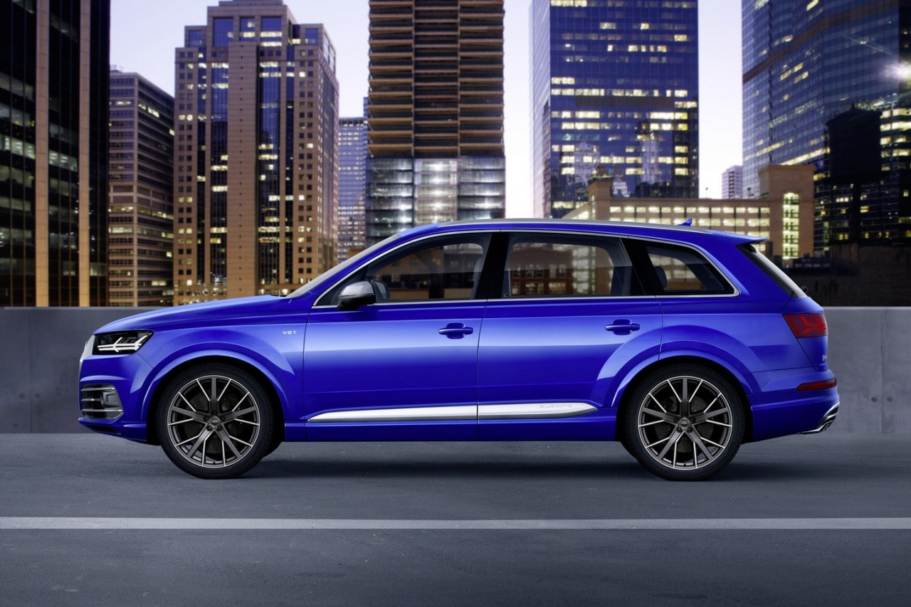 audi sq7 performance suv revealed gets tri turbo tdi v8 performancedrive. Black Bedroom Furniture Sets. Home Design Ideas