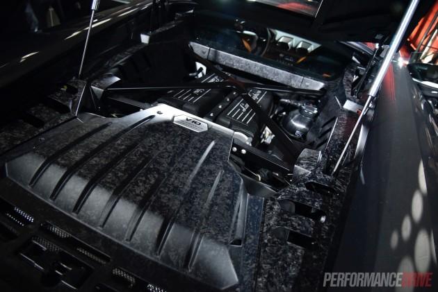 Australia Lamborghini Huracan 580-2 engine