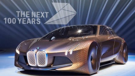 BMW VISION NEXT 100 concept unveiled, celebrates 100th anniversary