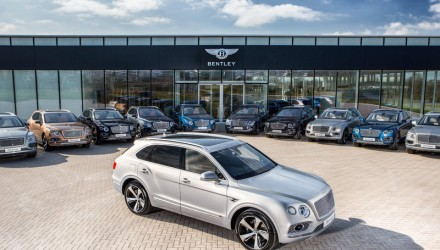 First Bentley Bentayga SUVs handed to customers