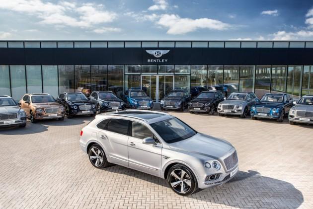 Bentley Bentayga first deliveries-Crewe