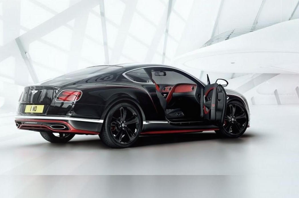 bentley continental gt black speed edition announced for. Black Bedroom Furniture Sets. Home Design Ideas
