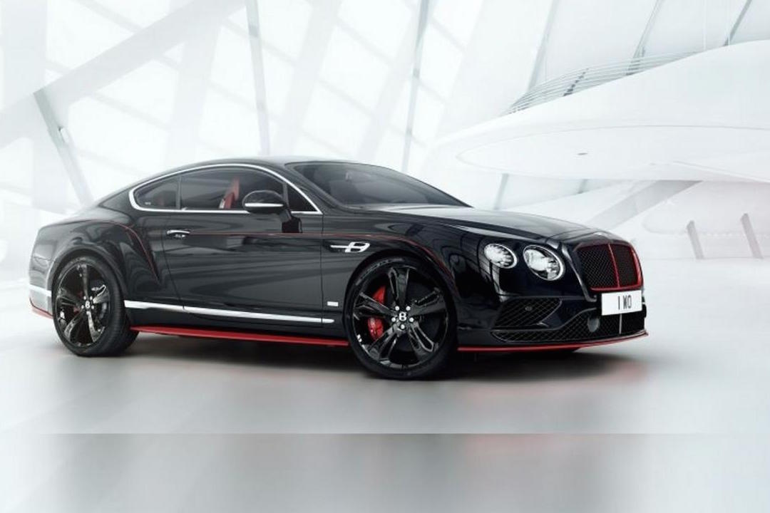 Bentley Continental Gt Black Speed Edition Announced For
