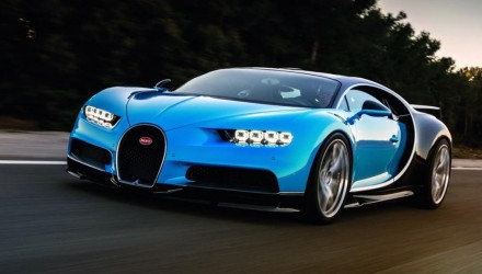 Bugatti Chiron officially revealed; 1500hp Veyron successor