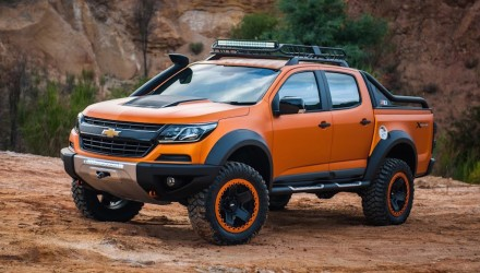 Colorado Xtreme & Trailblazer Premier concepts designed in Australia