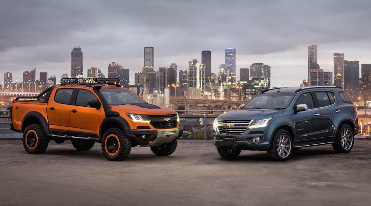 Chevrolet colorado xtreme trailblazer premier