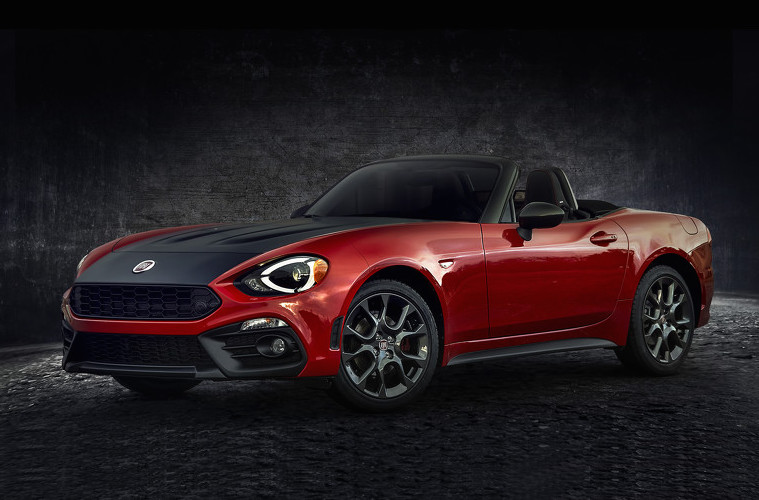 fiat 124 spider elaborazione abarth edition revealed performancedrive. Black Bedroom Furniture Sets. Home Design Ideas