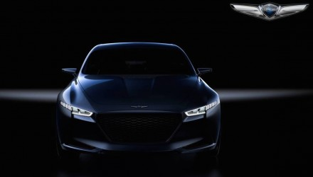 Genesis G70 previewed in New York concept, new mid-size luxury sedan