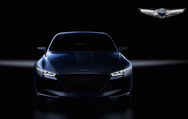Genesis G70 concept preview