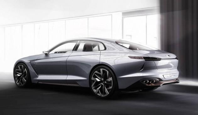 Genesis New York Concept-rear