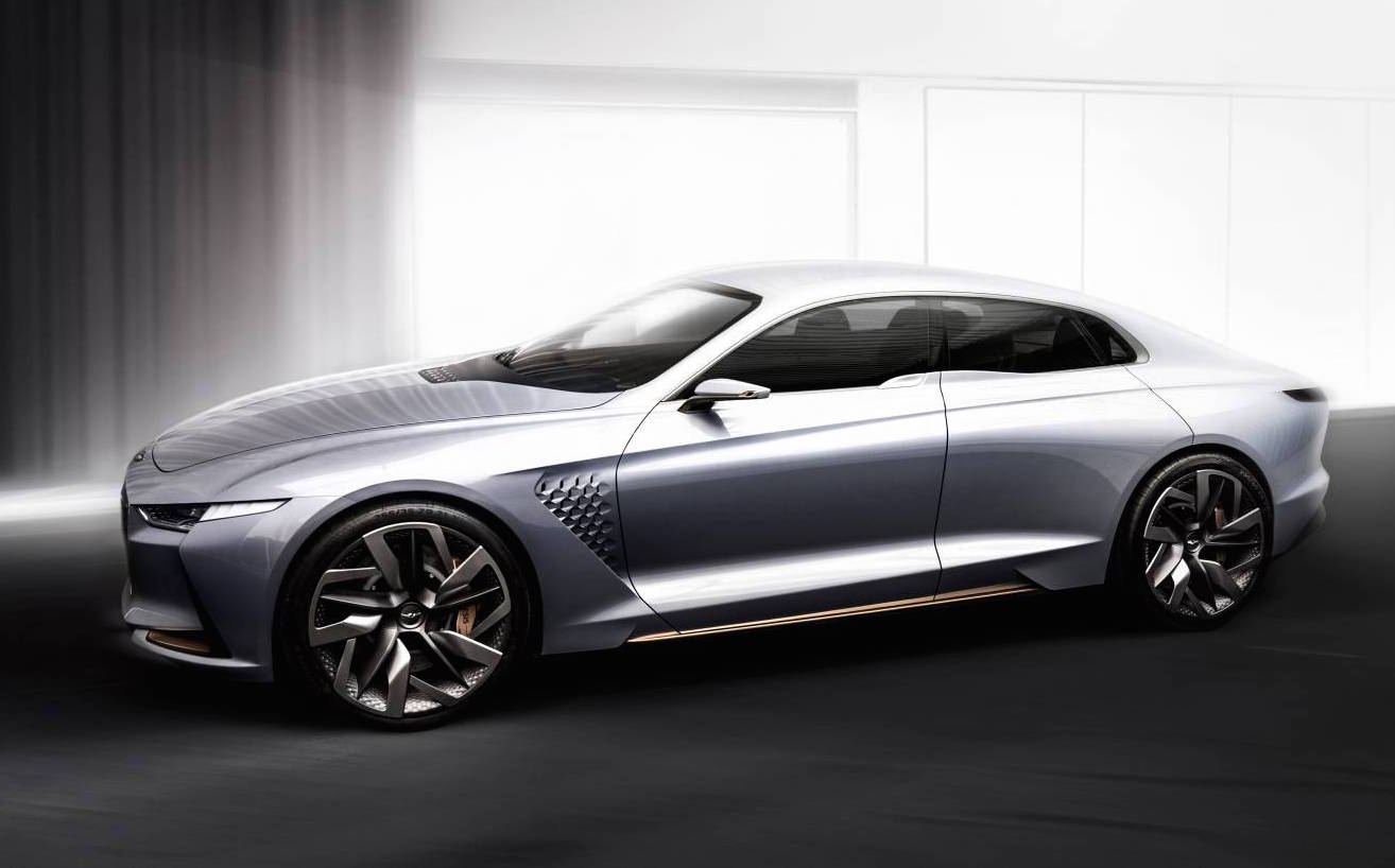 genesis new york concept unveiled previews new mid size sedan