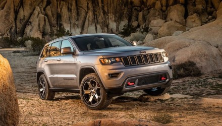 2017 Jeep Grand Cherokee Trailhawk leaks out early