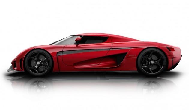 Koenigsegg Regera-red