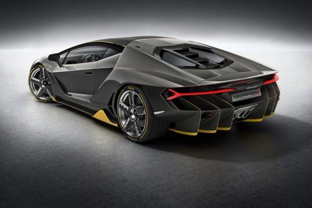 Lamborghini Centenario-back