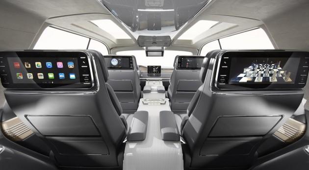 Lincoln Navigator Concept-screens