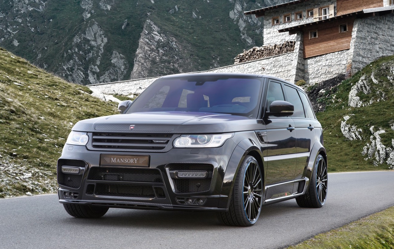 mansory gives range rover sport full carbon fibre body. Black Bedroom Furniture Sets. Home Design Ideas