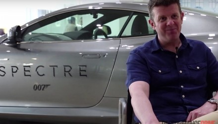 PerformanceDrive chats with 007 stunt driver Mark Higgins (video)
