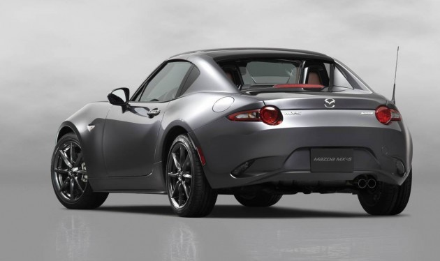 Mazda MX-5 RF-rear