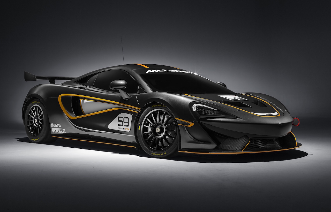 Mclaren Announces Track Only 570s Sprint Amp 570s Gt4