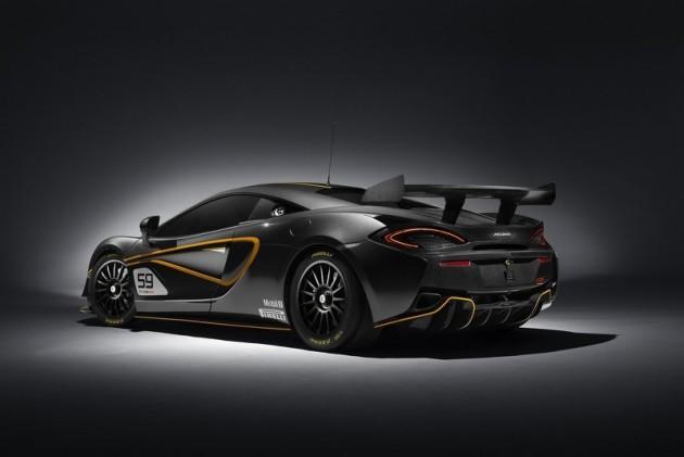McLaren 570S GT4-rear
