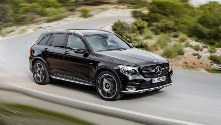 Mercedes-AMG GLC 43 revealed; quickest, most powerful SUV in class