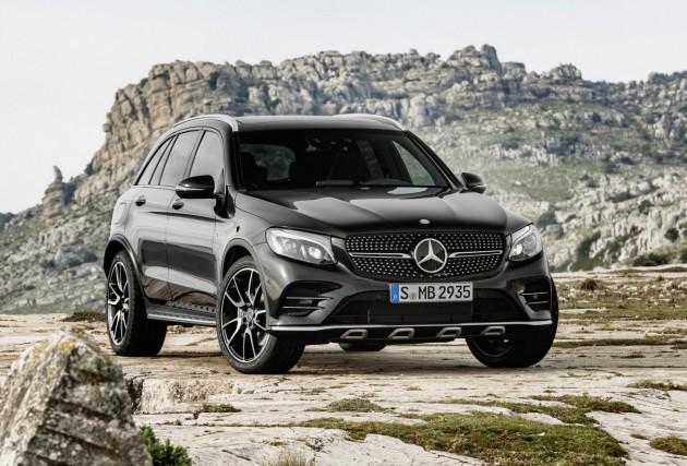 Mercedes-AMG GLC 43-front