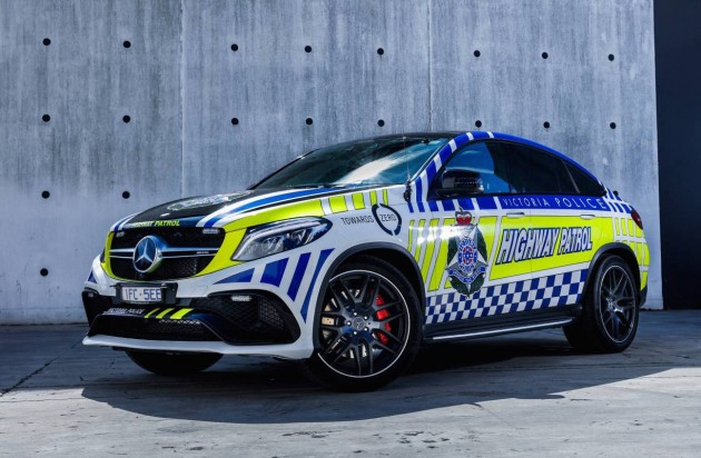 Mercedes-AMG GLE 63 AMG Coupe police car