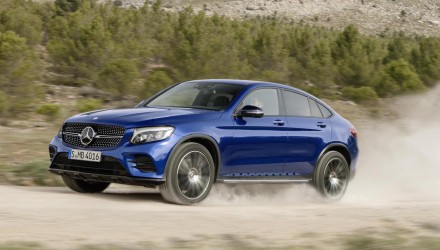 Mercedes-Benz reveals its BMW X4 rival; the GLC Coupe