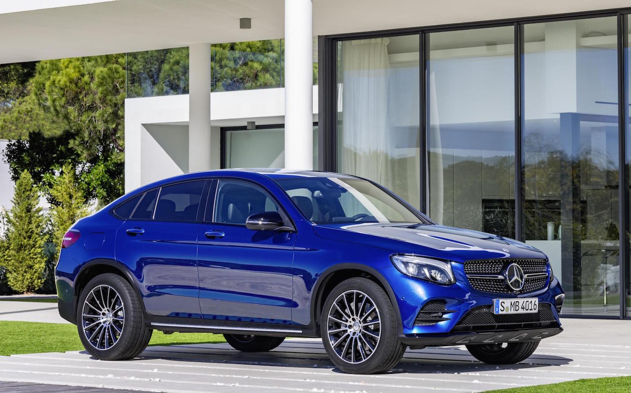mercedes benz reveals its bmw x4 rival the glc coupe. Black Bedroom Furniture Sets. Home Design Ideas