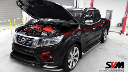 Nissan Navara NP300 gets 800hp GT-R engine conversion