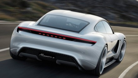 Porsche considering battery supplier for Mission E Tesla rival