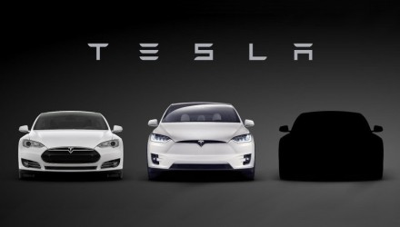 First Tesla Model 3 teaser released, debuts March 31