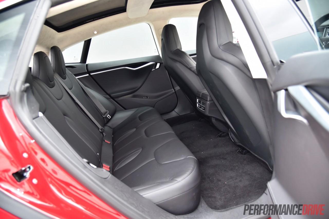 2016 tesla model s 90d 7 1 review video performancedrive for Interior back doors