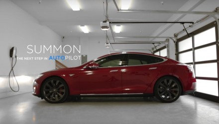 Tesla 7.1.1 update announced for Australia, includes Summon auto parking